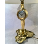 ART NOUVEAU ALARM CLOCK LAMP