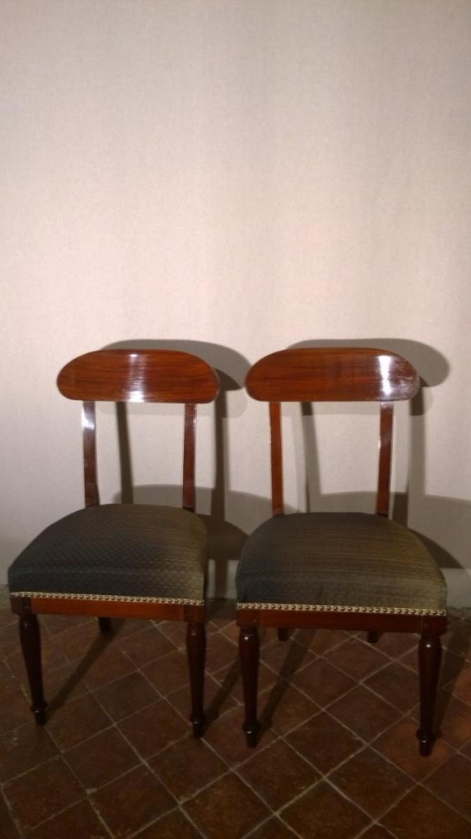 LOUIS PHILIPPE PERIOD CHAIRS