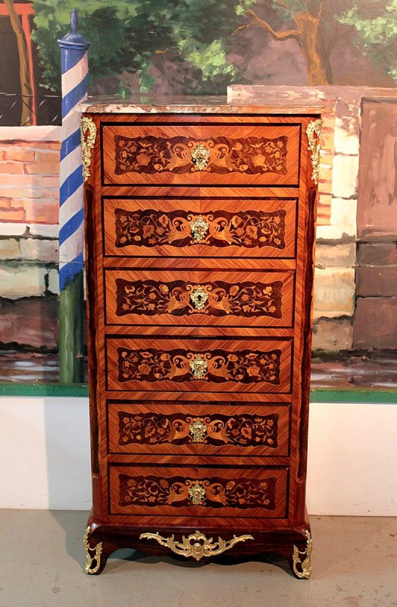 bureau napol on iii antiquiteiten in frankrijk. Black Bedroom Furniture Sets. Home Design Ideas