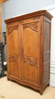 18 C.th Antique Marriage oak wood armoire