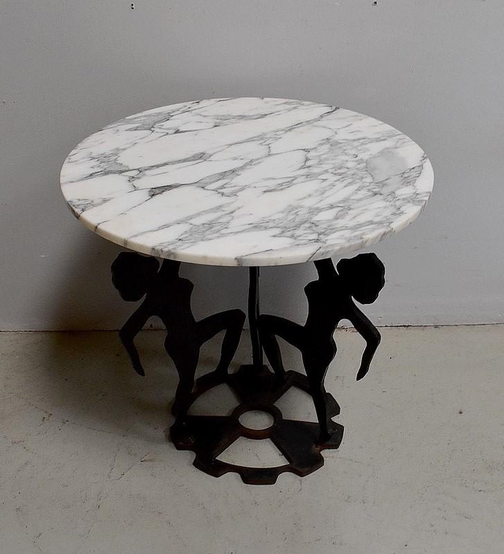 Bijzondere Side Table.Table 20eme Siecle Antiquiteiten In Frankrijk Page 2