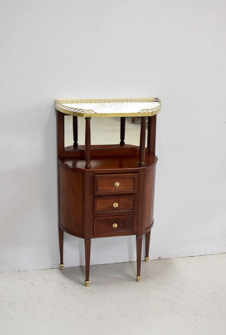Small piece of furniture between half-moon - XVIII