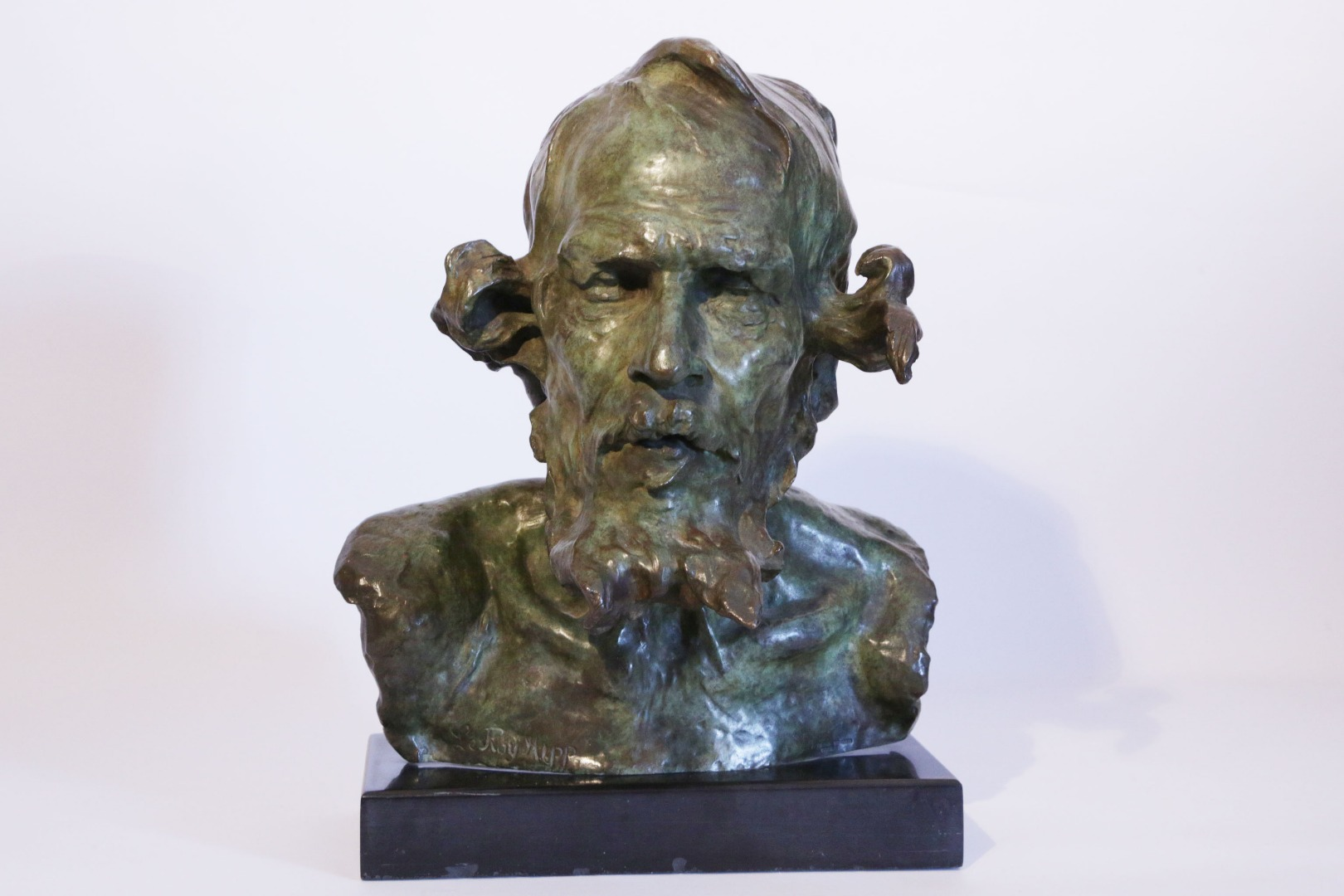 Don Quixote, Bronze bust of Hippolyte Le Roy