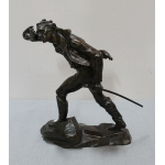 BRONS STATUETTE door AECarrier-Belleuse