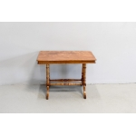 Small coffee table in Satin Wood - XIXth