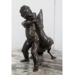 BRONZEN STANDBEELD DOOR A. COLLAS