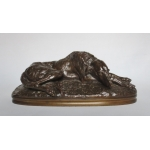 BRONZE GREYHOUND tekende Gayrard.
